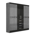 ropero-6-portas-avai-moval-gris-negro-abba-muebles