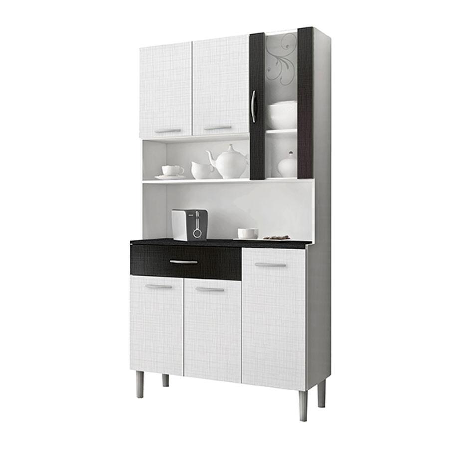 Kit cocina golden 6 puertas kits paran blanco tex negro tex abba import export - Muebles de cocina en kit ...