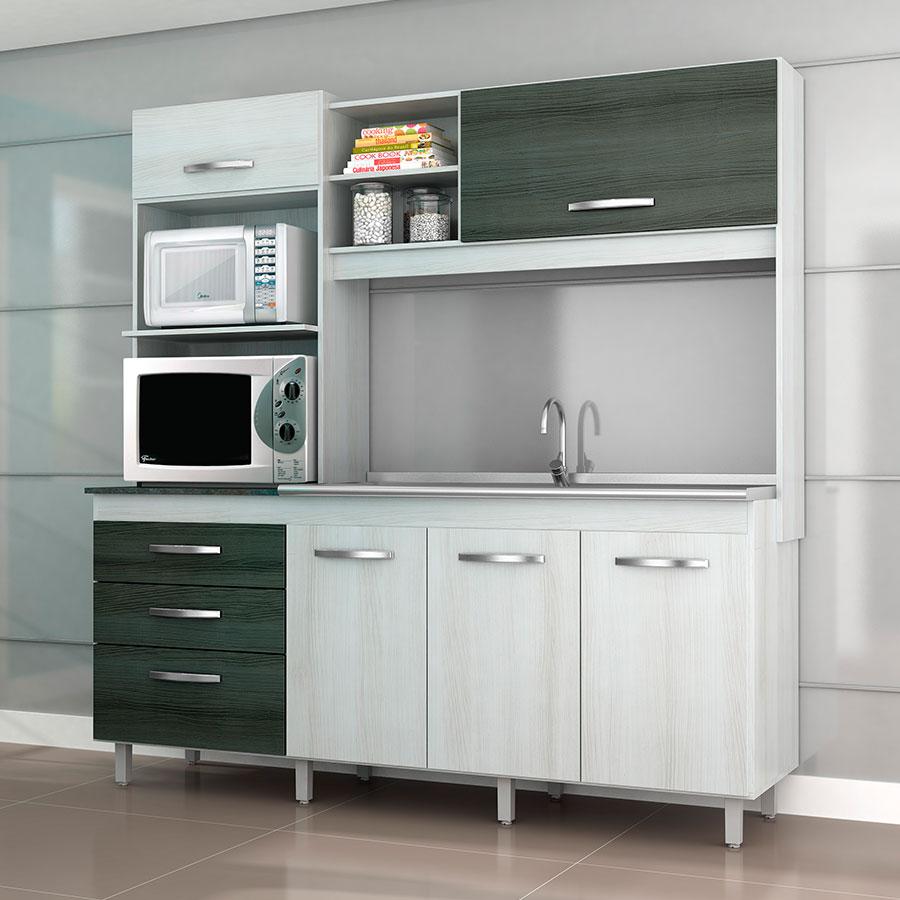Muebles cocina en kit beautiful cocina con puerta monaco for Muebles de cocina kit completos