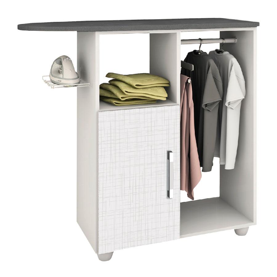 Mesa de planchar lavanda 600 kits parana blanco tex abba for Mesa para planchar