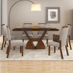 conjunto-comedor-veneto-6-sillas-nevada-dj-castaño-beige-abba-muebles-paraguay
