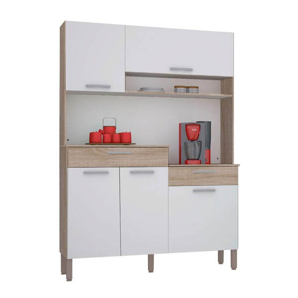 KIT COCINA NEON KITS PARANÁ NOGAL WHITE - Abba Import Export