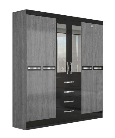 ropero-6-portas-avai-con-espejo-moval-gris-negro-abba-muebles