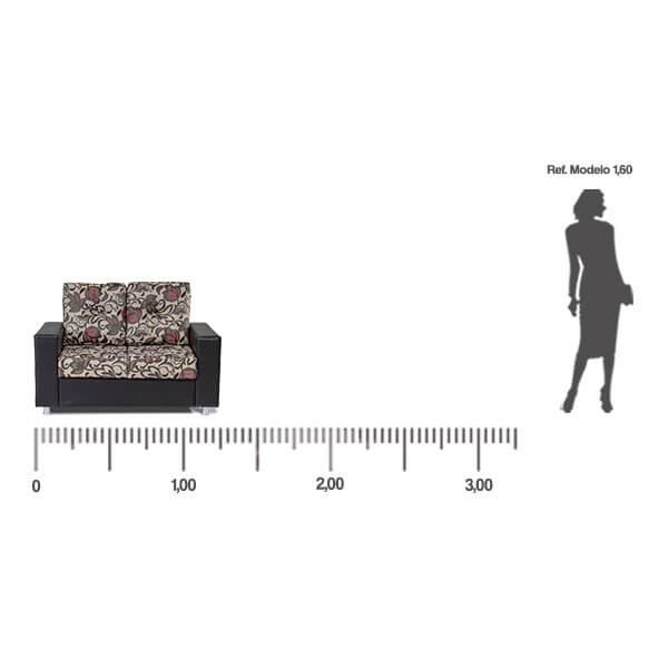 Sofa-Denver-2-lugares-medida-frontal-Abba-Muebles