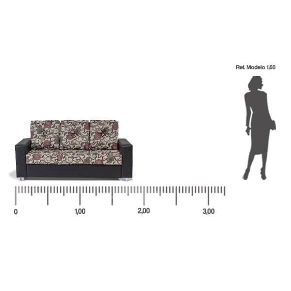 Sofa-Denver-3-lugares-medida-frontal-Abba-Muebles