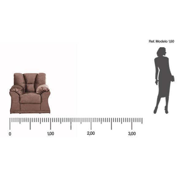 Sofa-Laguna-1-Lugar-medida-frontal-Abba-Muebles