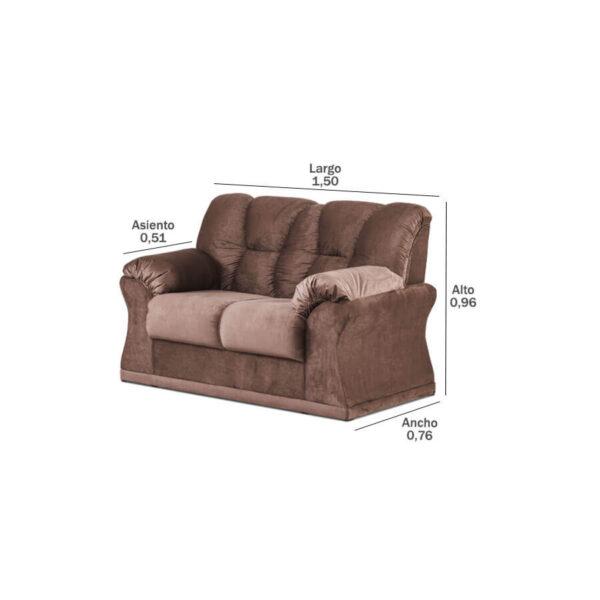 Sofa-Laguna-2-lugares-medidas-Abba-Muebles