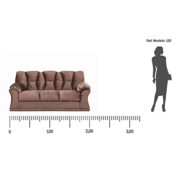 Sofa-Laguna-3-lugares-medida-frontal-Abba-Muebles