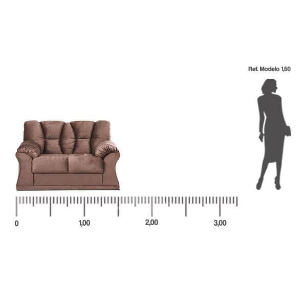 Sofa-Laguna-dos-lugares-medida-frontal-Abba-Muebles