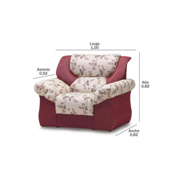 Sofa-Monterrey-1-lugar-medidas-Abba-Muebles