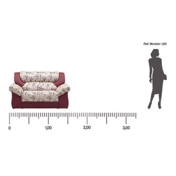 Sofa-Monterrey-2-lugares-medida-frontal-Abba-Muebles