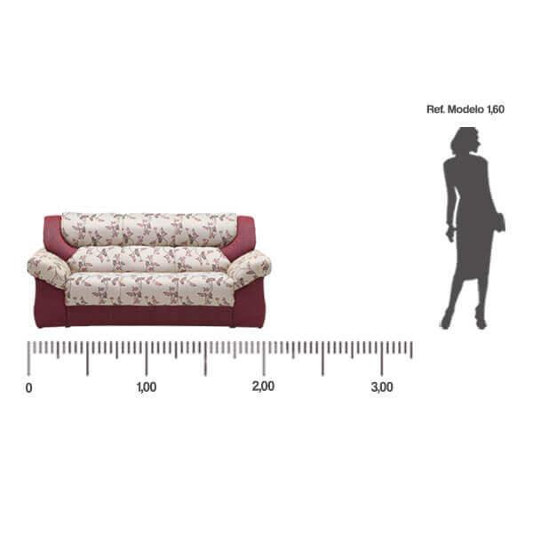 Sofa-Monterrey-3-lugares-medida-frontal-Abba-Muebles