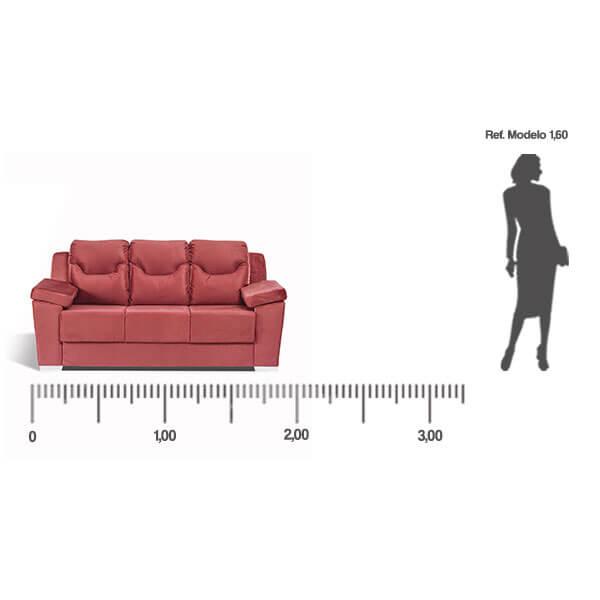 Sofa-Paraguay-3-lugares-medida-frontal-Abba-Muebles