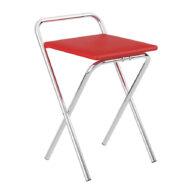 butaca-plegable-1745-carraro-cromado-rojo-abba-muebles