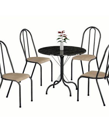 conjunto-alicante-con-4-sillas-fabone-negro-plateado-natura-beige-1-abba-muebles