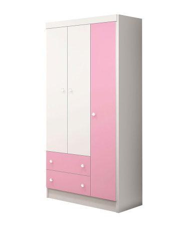 ropero-3-puertas-136-qmovi-blanco-rosa-abba-muebles