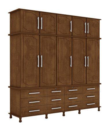ropero-5-portas-berlim-luapa-castano-wood-tex-abba-muebles