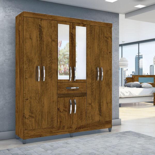 ropero-portugal-6-puertas-moval-castaño-wood-ambiente-abba-muebles