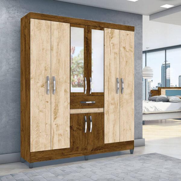 ropero-portugal-6-puertas-moval-castaño-wood-avellana-woof-ambiente-abba-muebles