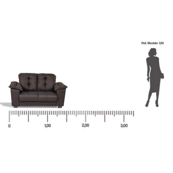 Sofa-Quebec-2-lugares-medida-frontal-Abba-Muebles