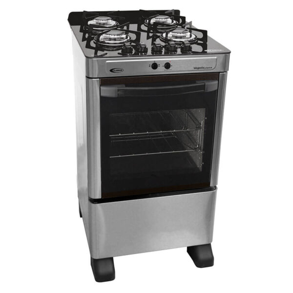 cocina-4h-magestic-glass-clarice-inox-abba-muebles