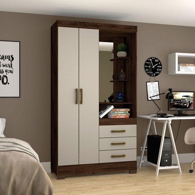 ropero-2-puertas-b64-cafe-cristal-ambiente