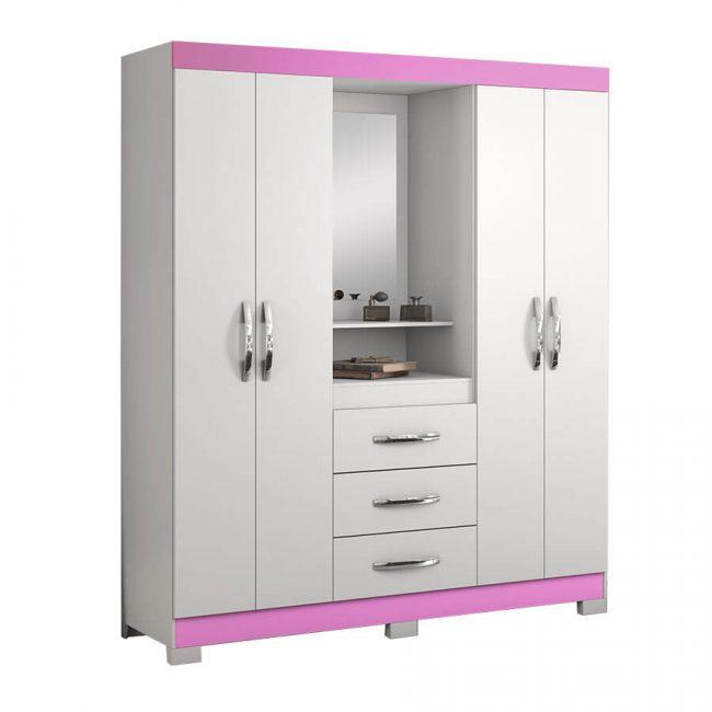 ropero-nt5015-notavel-blanco-rosa-abba-muebles