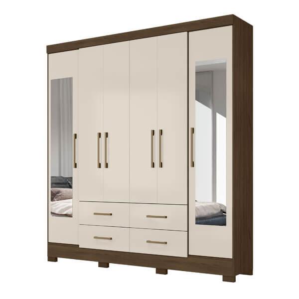 Ropero-6-puertas-valencia-wengue-vainilla-abba-muebles