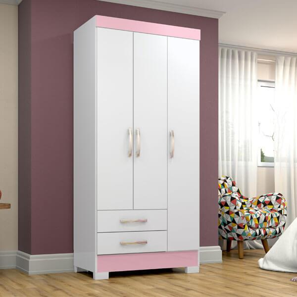 ropero-3-puertas-BE16-briz-blanco-rosa-ambiente-abba-muebles
