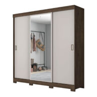 ropero 3 puertas NT5020 notavel cafe offwhite abba muebles