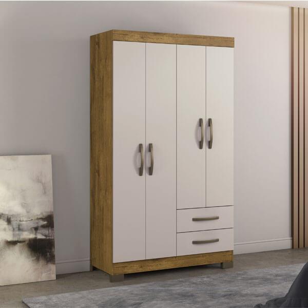 ropero 4 puertas NT5005 notavel rustico off white ambiente abba muebles