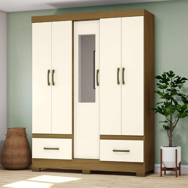 ropero-5-puertas-B60-Briz-nature-off-white-ambientado-abba-muebles