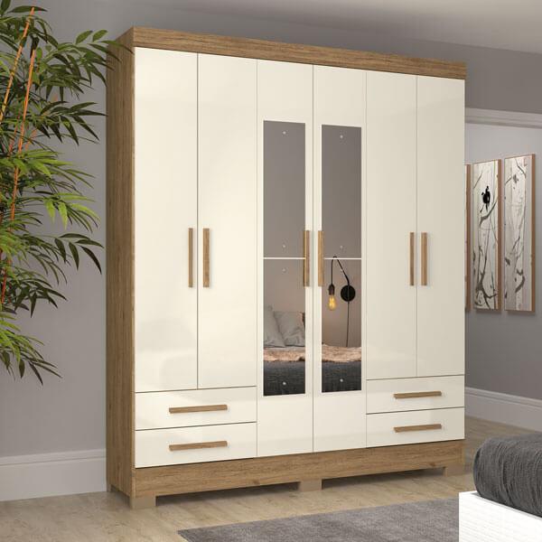 ropero-6-puertas-B63-Briz-rustico-off-white-ambientado-abba-muebles