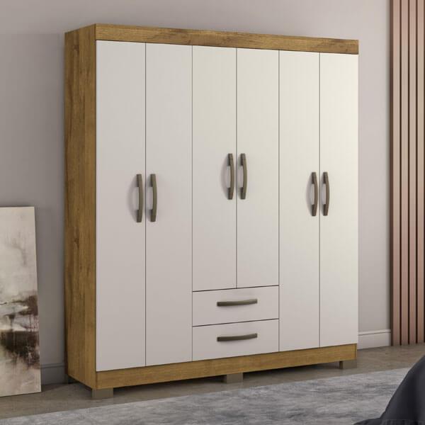 ropero-6- puertas-NT5010-Notavel-rustico-off-white-ambientado-abba-muebles