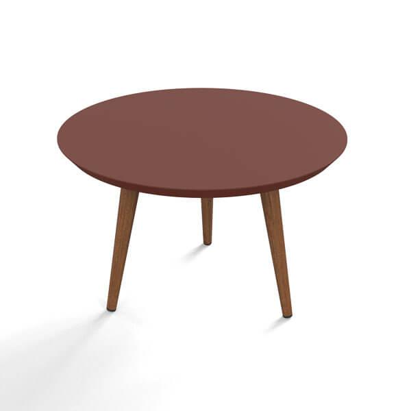 Conjunto mesa centro luna patrimar terracota 1 abba muebles