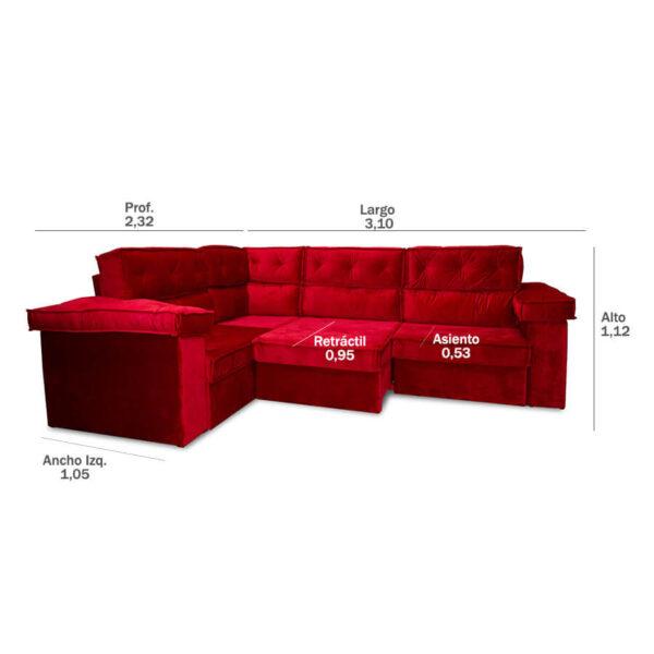 sofa polinesia abba 492 (A)
